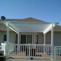 Custom Pergola and Vinyl Rail Patio Builders - Deck Builders - FM Home and Patio - Fargo ND